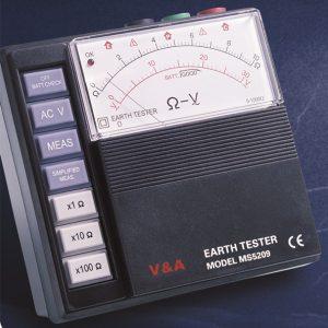 Измерител на земно съпротивление
